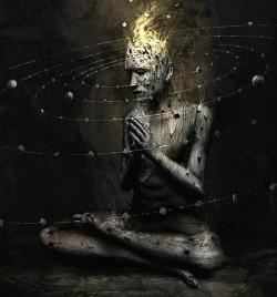 Accessing universal subconscious requires consciousness.